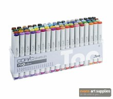 Copic Sketch 72pc Set A
