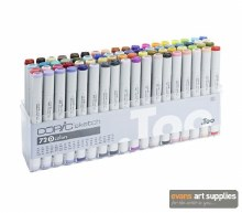 Copic Sketch 72pc Set D