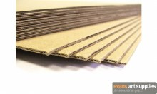 Corrugated Kraft Card