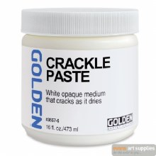 Golden Crackle Paste 473ml