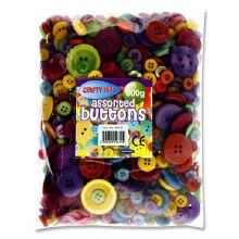 Crafty Bitz Assorted Buttons