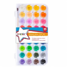 Create 36 Watercolour Set