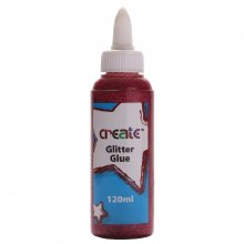 Create Glitter Glue Fuschia