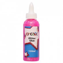 Create Glitter Glue Pink