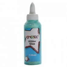 Create Glitter Glue Sea Blue