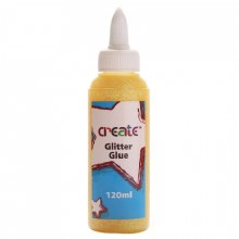 Create Glitter Glue Yellow