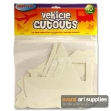 CutOuts Vehicles 10s*