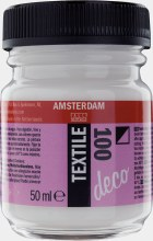 Amsterdam Deco Textile 100 White 50ml