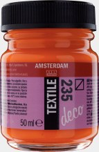 Amsterdam Deco Textile 235 Orange 50ml