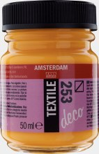 Amsterdam Deco Textile 253 Gold Yellow 50ml