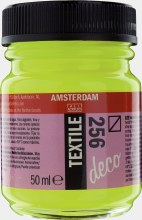Amsterdam Deco Textile 256 Reflex Yellow 50ml