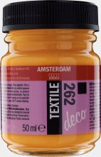Amsterdam Deco Textile 262 Gold Yellow Opaque 50ml