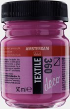 Amsterdam Deco Textile 360 Oriental Red 50ml