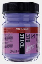 Amsterdam Deco Textile 376 Purple 50ml