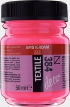 Amsterdam Deco Textile 384 Reflex Rose 50ml