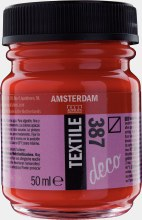 Amsterdam Deco Textile 387 Bright Red 50ml