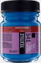 Amsterdam Deco Textile 541 Sky Blue Opaque 50ml