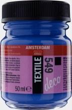 Amsterdam Deco Textile 549 Blue Violet Opaque 50ml