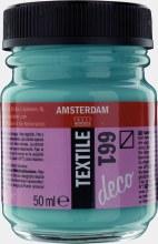 Amsterdam Deco Textile 661 Turquoise Green 50ml