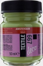 Amsterdam Deco Textile 667 Spring Green Opaque 50ml