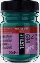 Amsterdam Deco Textile 684 Bottle Green 50ml