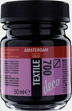 Amsterdam Deco Textile 700 Black 50ml