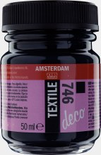Amsterdam Deco Textile 746 Black Opaque 50ml