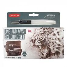 Derwent Line & Wash Sketching Set