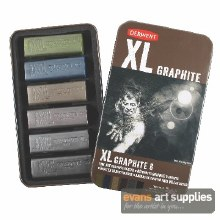 Derwent XL Graphite Blocks 6s