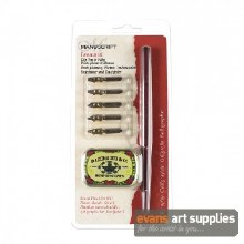 Dip Pen Round Hand No.1 Set