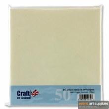 DL Ivory Card & Envelopes 50s*