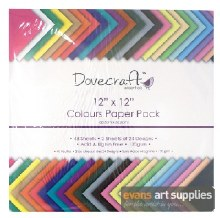 Dovecraft Paper Pack 12x12""