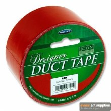 Craft Duct Tape Red