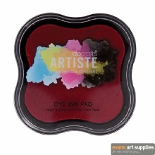 Dye Ink Pad Red