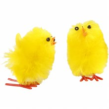 Easter Chick - Yellow 30mm 12s