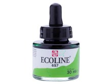 ECOLINE 30ML BRONZE GREEN 657