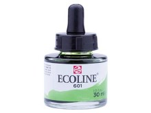 ECOLINE 30ML LIGHT GREEN 601