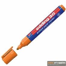 Edding 30 Brill Paper Orange*