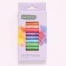 Elements Oil Pastels 12s