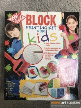 Lino Block Printing Kit4Kids