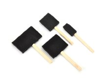 Evans Foam Brush Set 4s