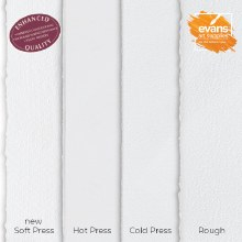 NEW Fabriano Artistico Extra White 300gsm Soft Pressed