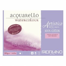 NEW Fabriano Artistico Block - 35.5x51cm - Hot Pressed - EXTRA WHITE