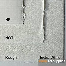 Fabriano Artistico Extra White CP 56x76cm 300g (Min 3 Sheets)