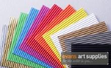 Fabriano Corrugated Card Silver