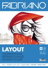 Fabriano Layout Pad A4