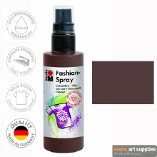 Marabu 100ml Fashion Spray Chocolate Brown 295