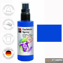 Marabu 100ml Fashion Spray Marine Blue 258
