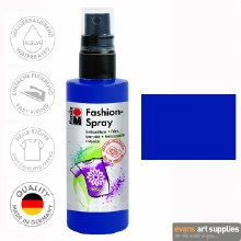 Marabu 100ml Fashion Spray Night Blue 293