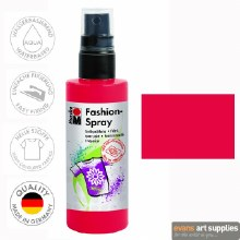 Marabu 100ml Fashion Spray Red 232